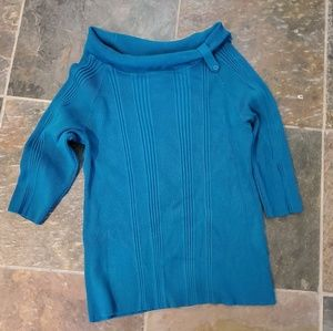 SOLD JMS Just My Size, blue sweater, 3X 22W/24W